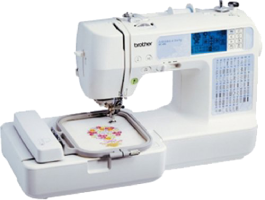 Brother SE350 Computerized Embroidery and Sewing Machine