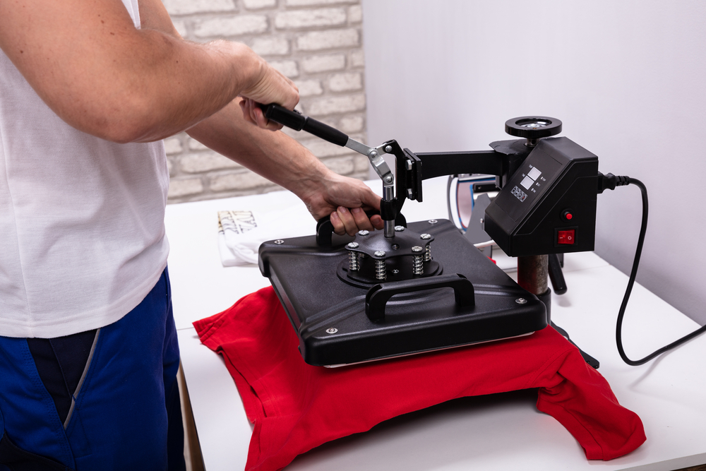 How to use a heat press machine