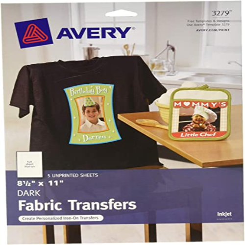 Dark T-Shirt Transfers, Iron-On